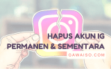 cara menghapus akun instagram featured