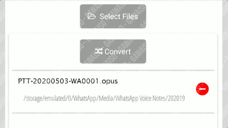 cara save voice note whatsapp - konversi opus ke mp3 2