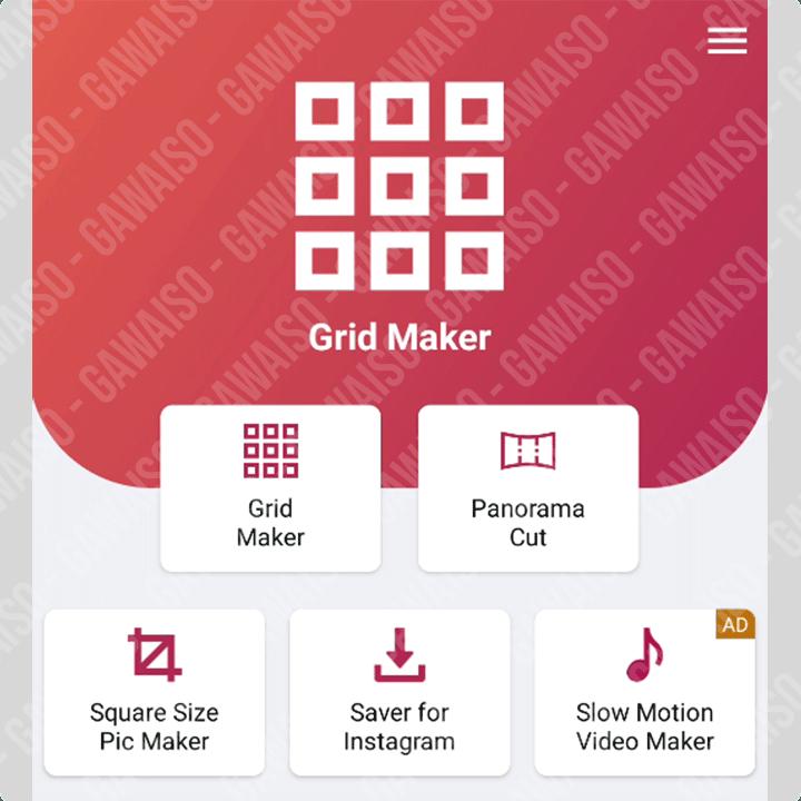 membuat feed instagram nyambung - grid maker for instagram