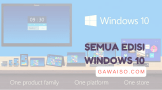 jenis macam versi edisi windows 10 pro home enerprise education
