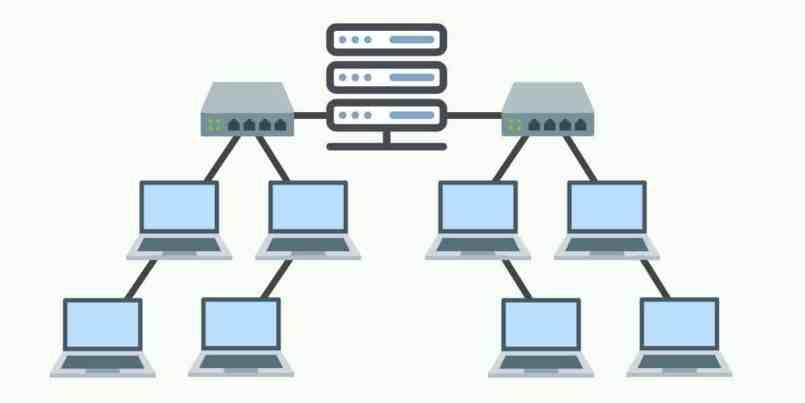 topologi jaringan komputer tree