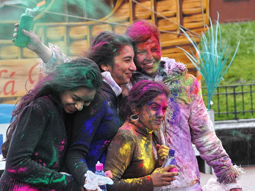 The Festivals of Colors - Holi