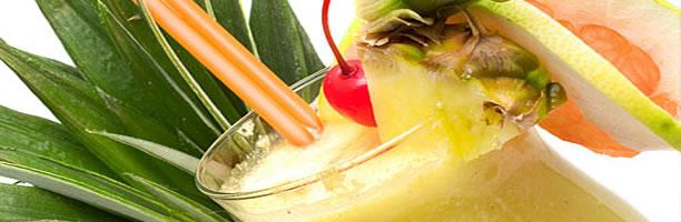 Exotic Cocktail Recipes - Pina Colada
