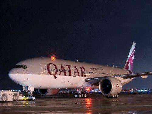 Qatar Airways Flight
