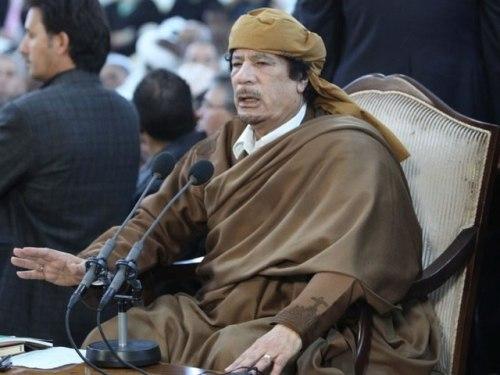 Muammar Muhammad al Gaddafi