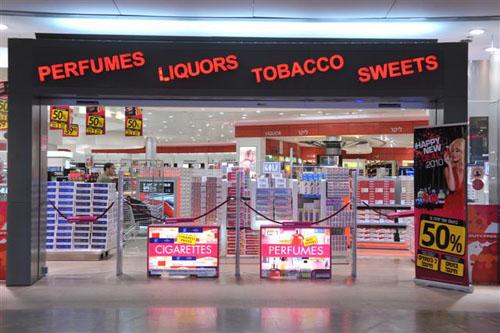 Heathrow Duty Free Shop | (cc) Photo by Tamar Mazpi