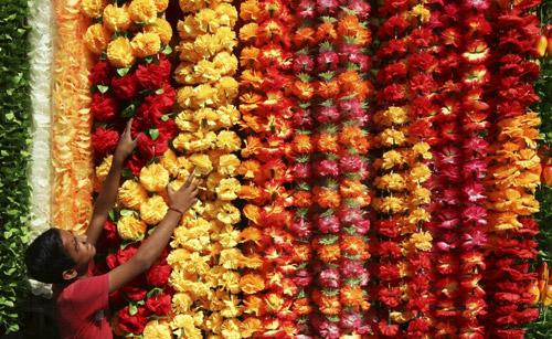 Diwali Flower Garlands