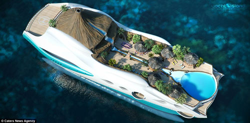 Lavish Island Yacht