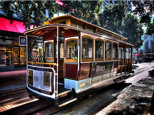 Great Places For A Family Vacation: San Francisco Cable Car