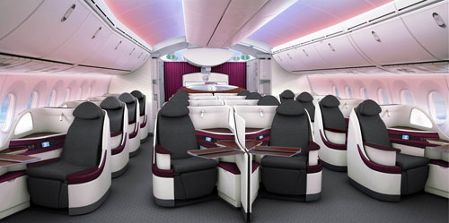 Best Airlines In The World: Qatar Airways 787 Dreamliner Business Class