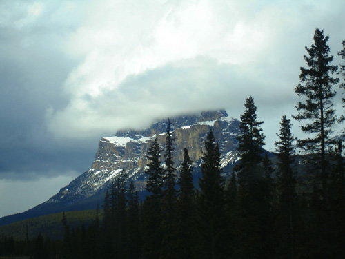 View of Rocky Mountains