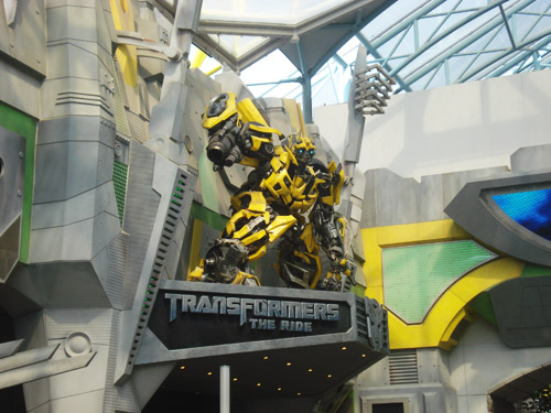 TRANSFORMERS: The Ride @ Universal Singapore