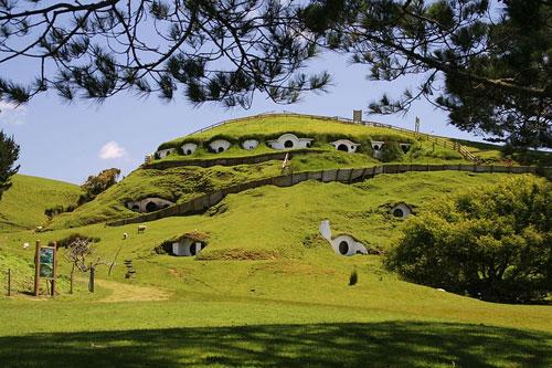 The Hobbit Locations: Hobbiton