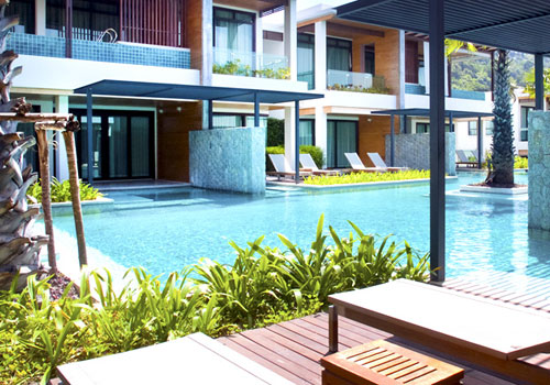 Access Pool From Hotel Room: Sea Pearl Villas Phuket