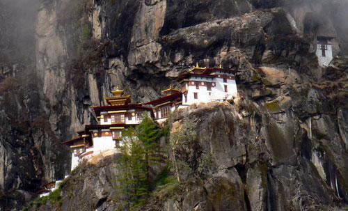 Famous Landmarks: Tiger's Nest Monastery Bhutan
