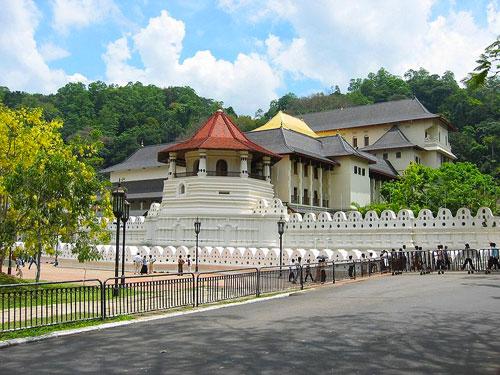 Iconic Landmarks: Temple of the Tooth - Kandy, Sri Lanka
