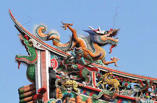 Places To See In Taipei: Mengjia Longshan Temple