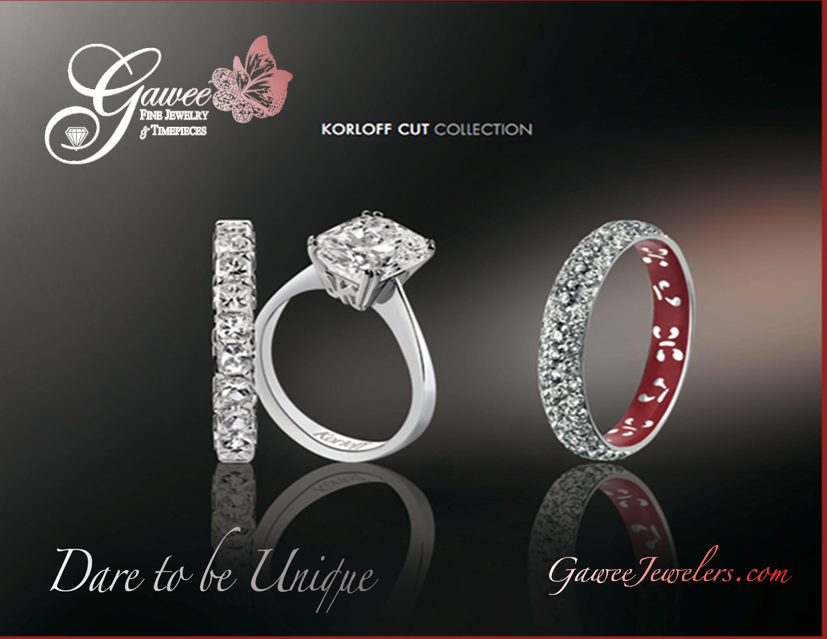 korloff cut wedding bands
