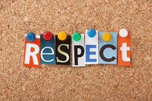 Respect image by Shutterstock