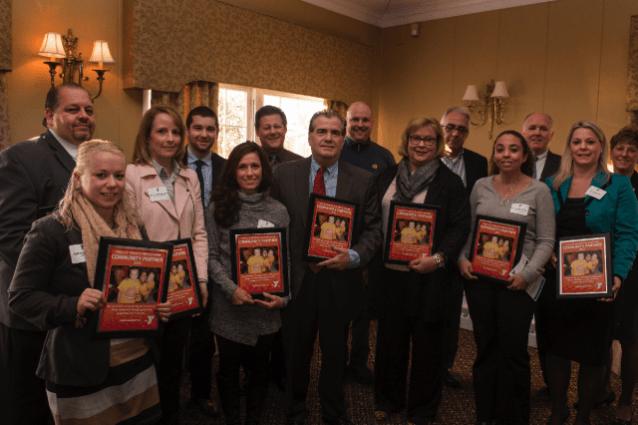 YMCA Recognizes Gawthrop Greenwood For Generosity