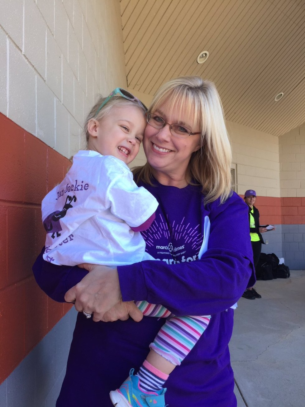 Gawthrop Supports March For Babies
