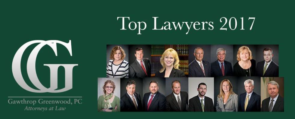 Top Lawyers 2017 Main Line Today Gawthrop Greenwood