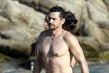 James Franco desnuda