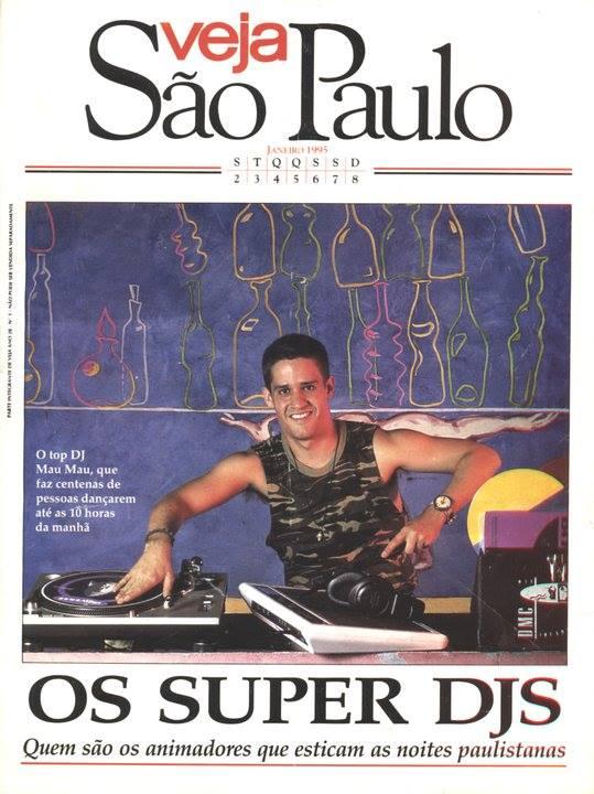 Mau Mau na capa da Veja São Paulo - Janeiro de 1995