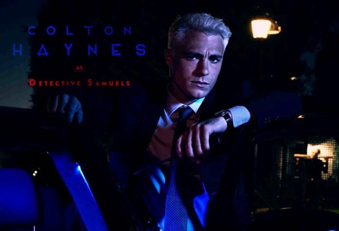 Colton Haynes caracterizado para AHS