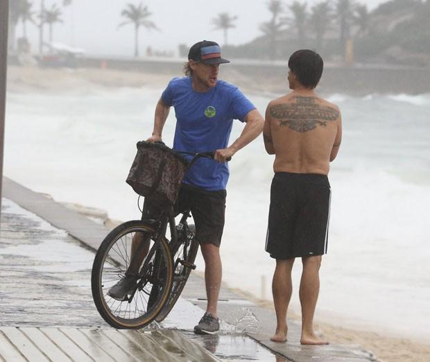 Owen Wilson e Antony Kiedis (foto: AgNews)