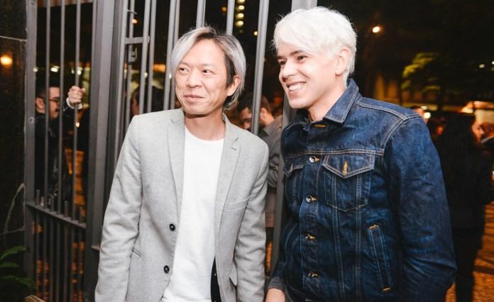 Bob Yang (nome social) e Frederico Evaristo, que está como proprietário do Club
