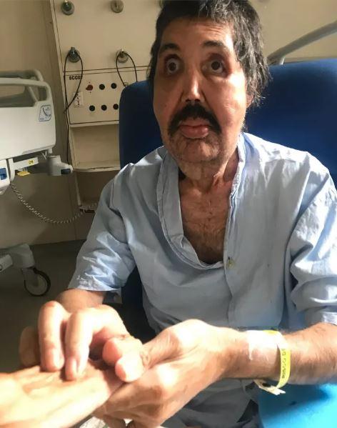 Ricardo Corrêa da Silva no dia da nossa primeira visita, 16 de abril de 2017.