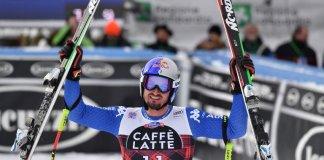 Olar esquiadores atletas