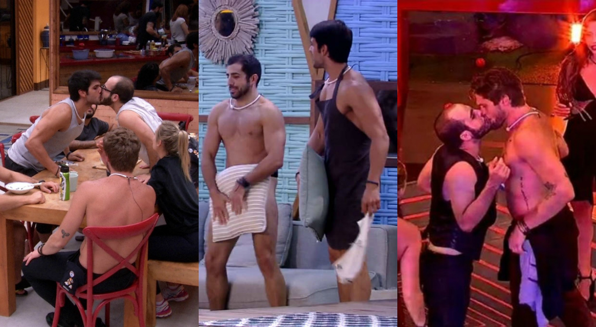 Big Bromance Brasil: uma semana, dois beijos gays e três nádegas 😎