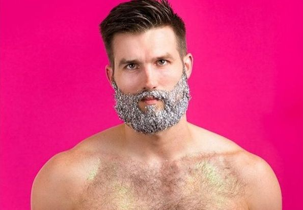Como tirar o glitter do corpo, barba e cabelo ✨