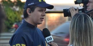 O policial federal Fabrício Rosa. Foto: Folha Z