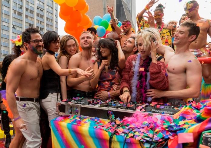 Sense8 na Parada LGBT de SP. Foto: reprodução