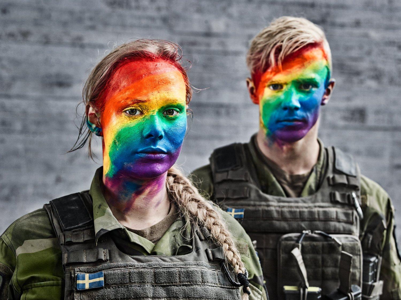 Exército da Suécia lança campanha para enaltecer a comunidade LGBT+