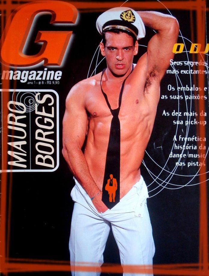 Cover boy da extinta revista G Magazine
