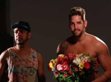 Felipe, à direita. Foto Foto: Uran Rodrigues banda eva