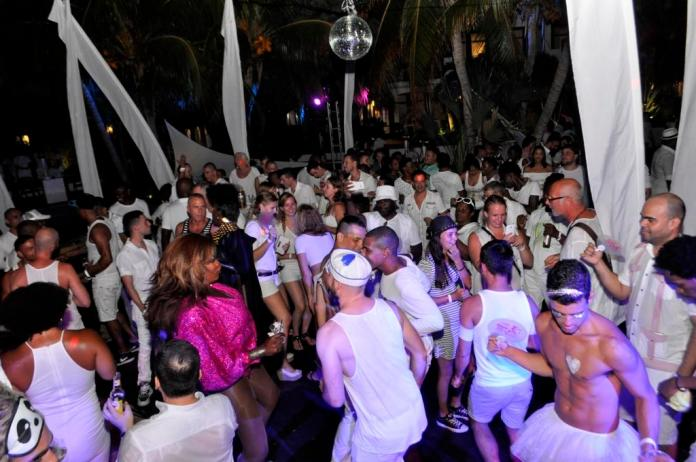 Curaçao Pride White Party. Foto: divulgação