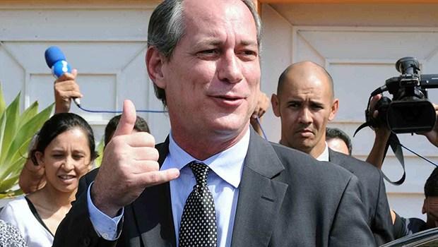 Ciro Gomes. Foto: Jornal Opção
