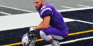 Wyatt Pertuset plays for Capital University. Jamie Gaffney futebol americano gay