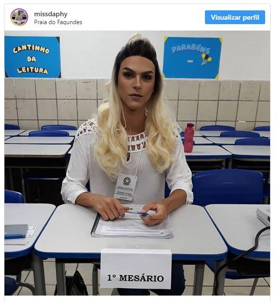 Post da paraibana repercute nas redes sociais: 'Lute como uma garota'. Foto: reprodução/Instagram