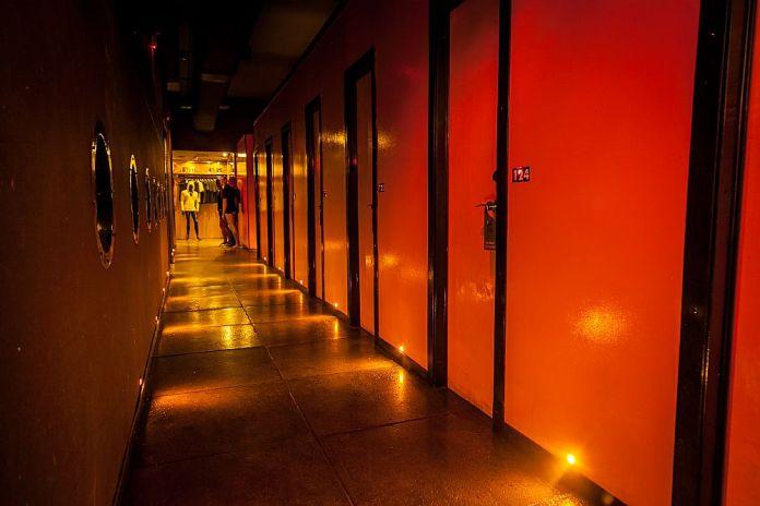 O 269 Chilli Pepper Single Hotel Belo Horizonte ficava localizado no coração do bairro Floresta, região boêmia, no tradicional Cine Odeon. Foto: divulgação