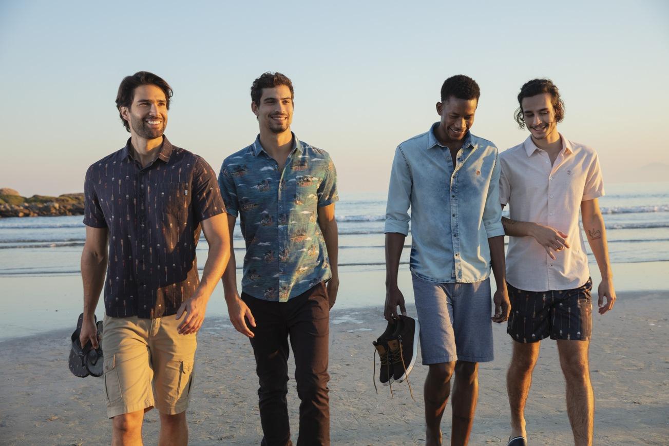 Timberland apresenta mood para o alto verão, uma viagem a um deserto praiano
