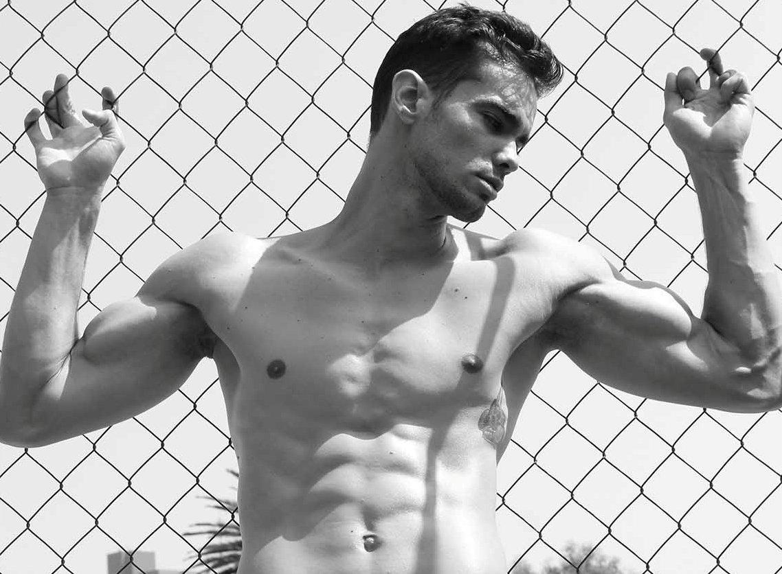 Antônio Silveira por Carlos Mora para Brazilian Male Model