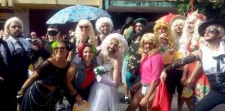 Várias Madonnas em carnaval de Belo Horizonte. Foto: Leo Assumpção