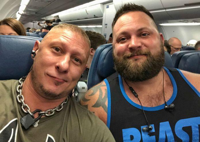 Dusty (direita) e marido, Steve (esquerda) (Foto: Fornecido)