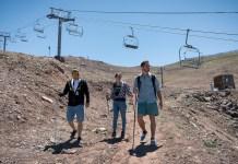 Alguns roteiros permitem conciliar passeio de teleférico e trekking Divulgação